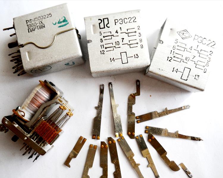 Справочники содержания драгоценных металлов в радиодеталях
